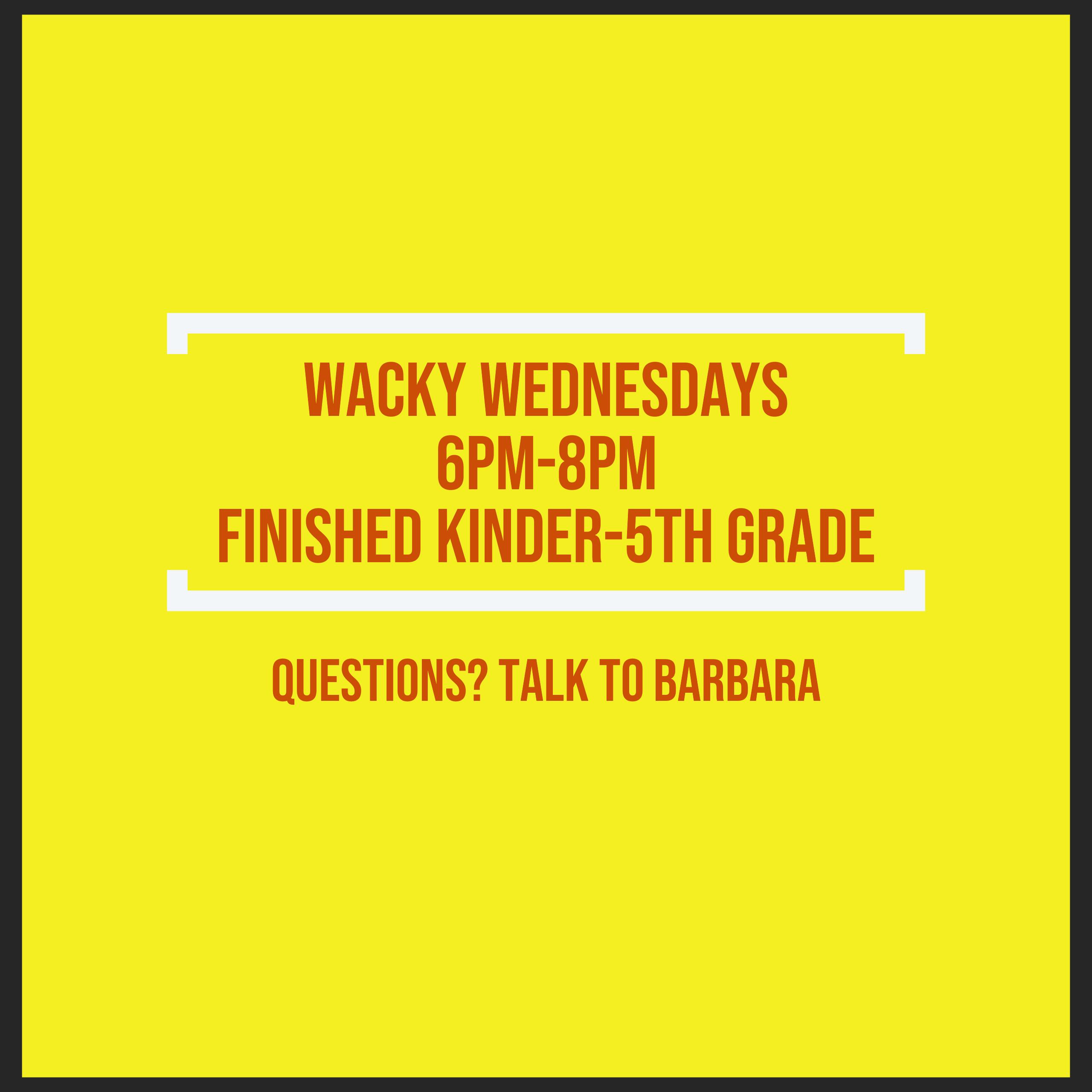 Wacky Wednesdays for Kids